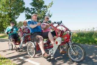 Molenzicht geniet van fiets-aanhanger