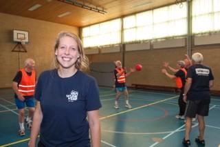 Sportleider Hart in Beweging volgt cursus